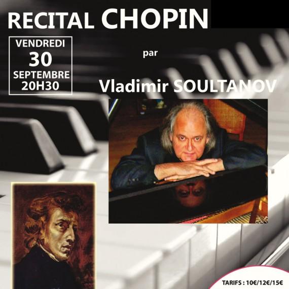 Récital Chopin par Vladimir Soultanov