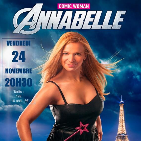 """Annabelle dans """"Comic Woman"""""""