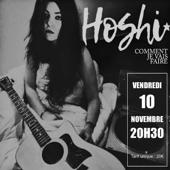 Hoshi en concert