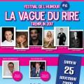 La Vague du Rire Festival #6 présente son TREMPLIN !