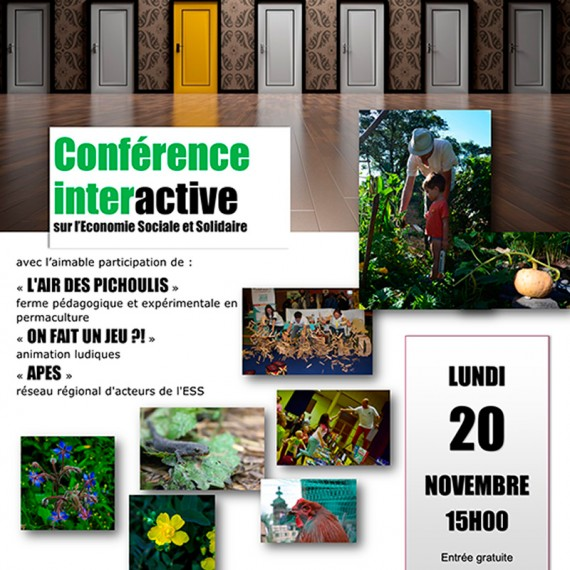 ESS : Conférence interactive