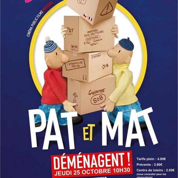 Cinékids – Pat et Mat déménagent