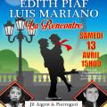 Edith PIAF, Luis MARIANO : La rencontre