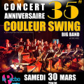 Couleur Swing Big Band – Concert anniversaire