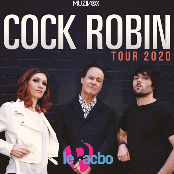 Cock Robin Tour 2020 (reporté au 2 octobre 2020)