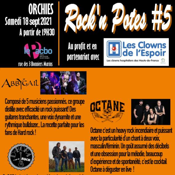 Rock'n Potes #5