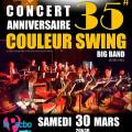 Couleur Swing Big Band – Concert anniversaire